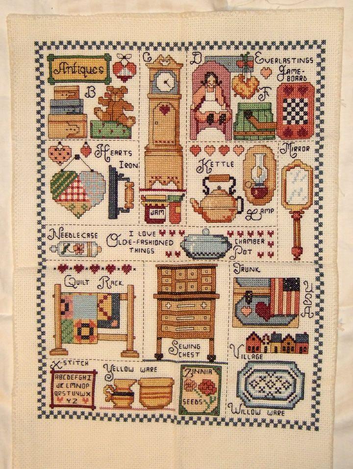 Cross Stitch Sampler Kits and Patterns - Everything Cross Stitch