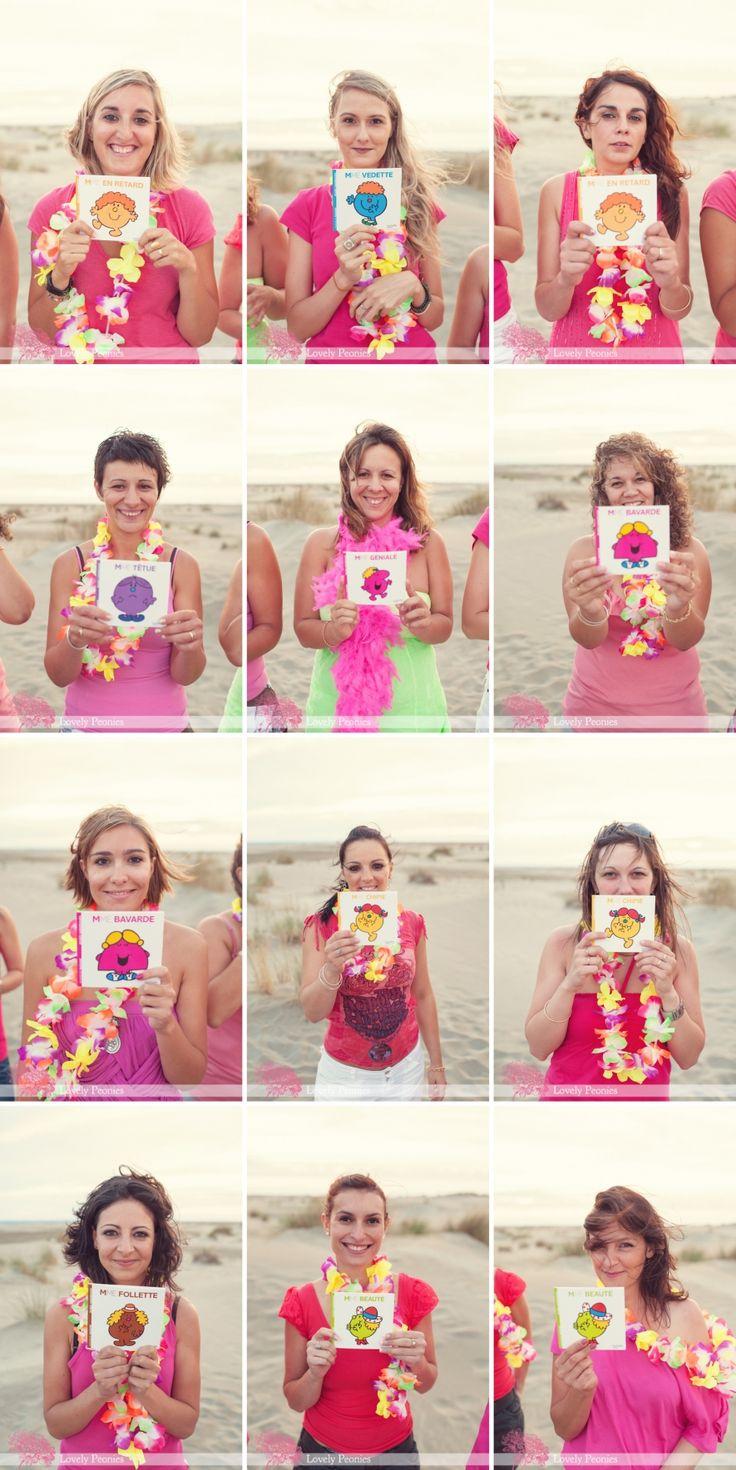Séance photo entre copines sur la plage