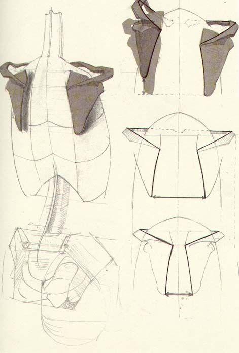 A wonderful book: Die Gestalt des Menschen by Gottfried Bammes ✤ || CHARACTER DESIGN REFERENCES |
