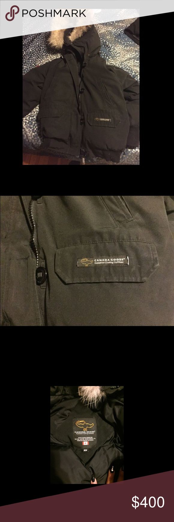 Canada Goose Jacket Used...But in great condition,very warm jacket. Lifetime warranty,authentic and i have to part with it because it no longer fits me. Canada Goose Jackets & Coats Puffers