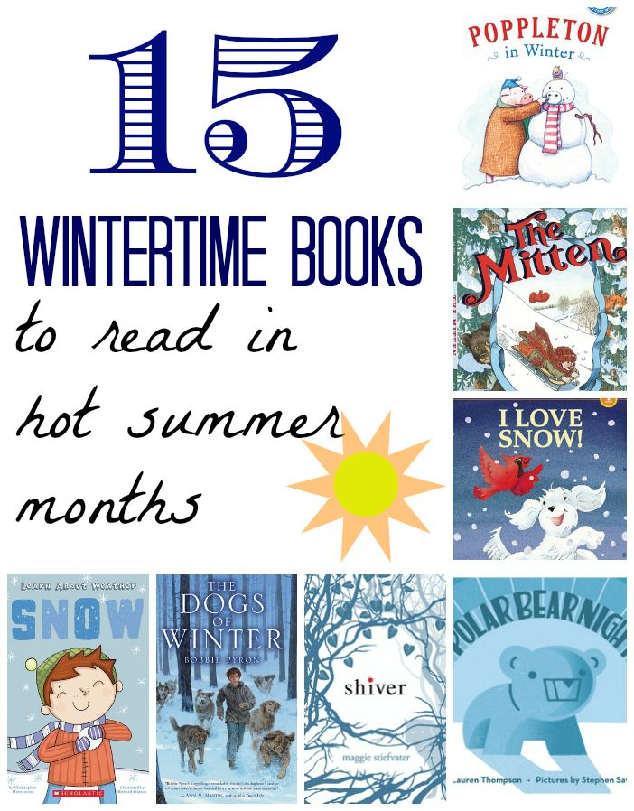 """Little readers up through teenagers will find something """"cool"""" to read in these books that are meant to distract from the hot days of summer."""