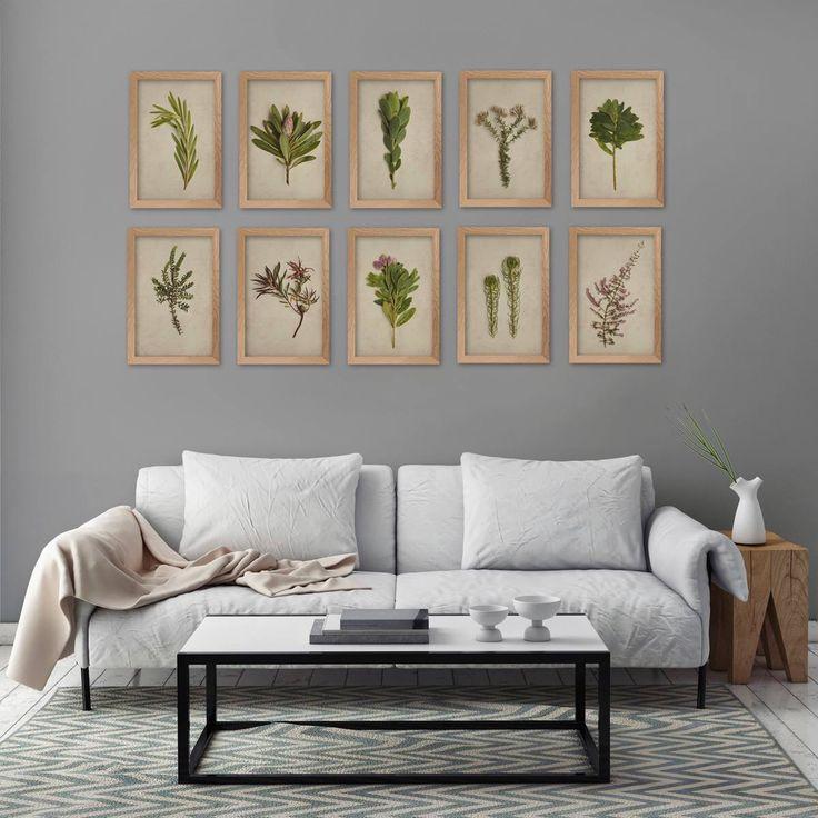 Botanical print set, fine art photography as decor. Email nataschavniekerk@gmail.com for queries.