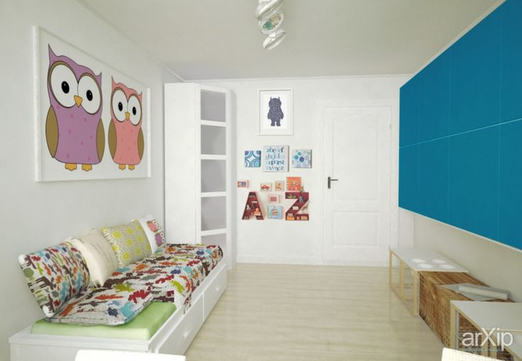 Playroom idea owls
