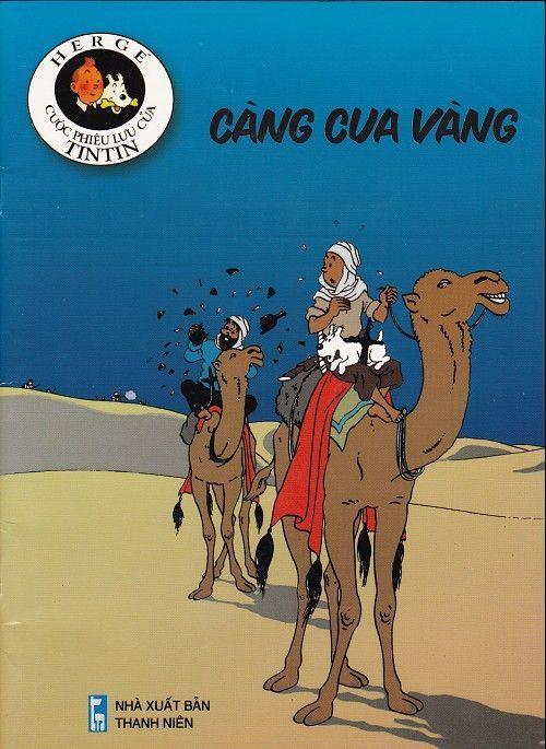 Couverture de Tintin (en langues étrangères) -9Vietnamien- Càng cua vàng