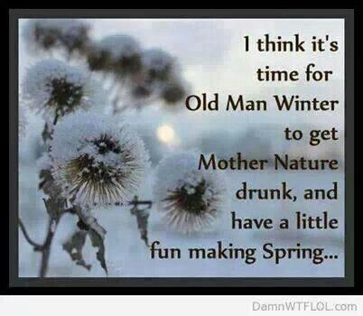 Good Funny Hating Winter Card Saying