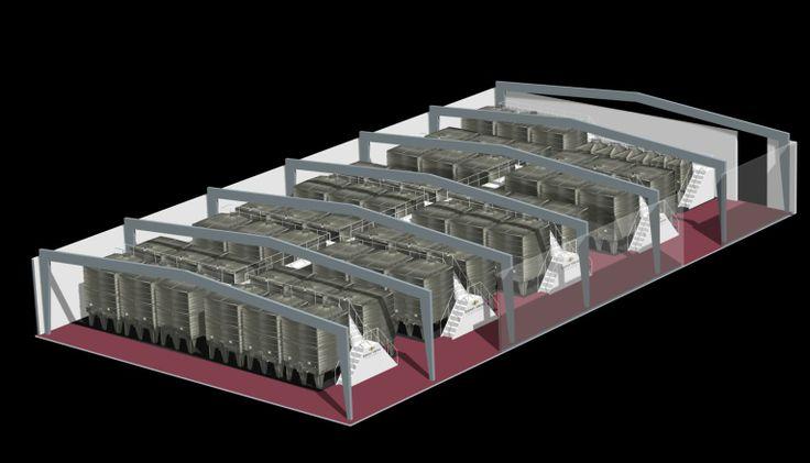 @LaGardeInox is proud to present its wine tanks visualisation for Rodney Strong Vineyards' #winery optimization in Healdsburg, CA.