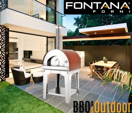 Fontana Pizza Oven Margherita   BBQ's & Outdoor