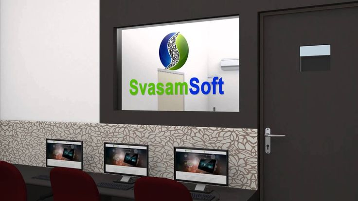 #3D #walkthrough_animation of #Svasamsoft and its infrastructure . #animation #3D_modeling