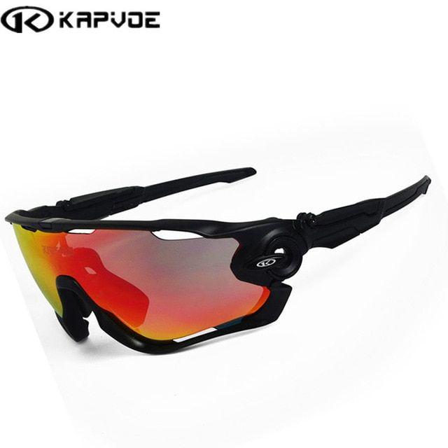 Cycling Sunglasses Men Sport Bicycle Riding Driving Ski Fishing Glasses Running