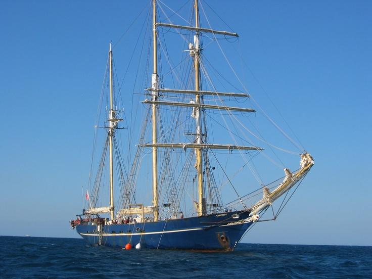 Leeuwin Tall Ship, Port of Fremantle, Australia