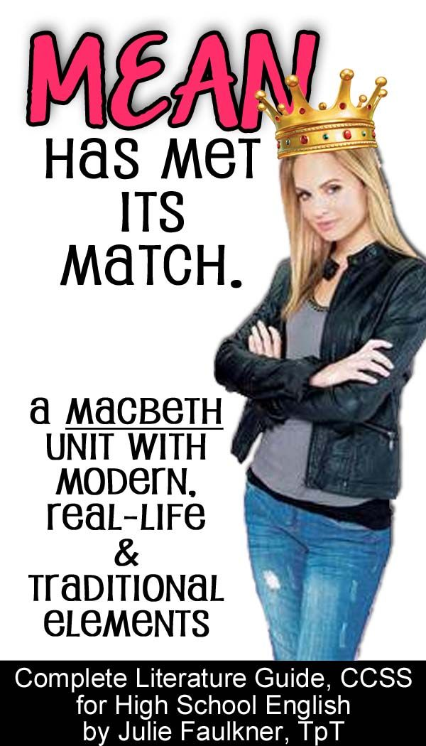 Macbeth complete unit plan with modern and traditional connections | Teaching Shakespeare has never been this easy -- or fun!