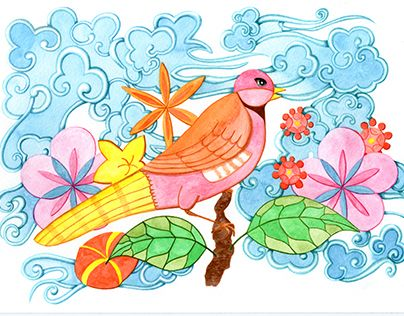 "Check out new work on my @Behance portfolio: ""Spring Bird"" http://be.net/gallery/45364161/Spring-Bird"