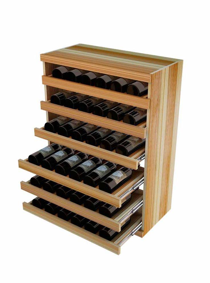 Wine Cellar Innovations Vintner Series Wine Rack -  Pull-Out Wine Bottle Cradle