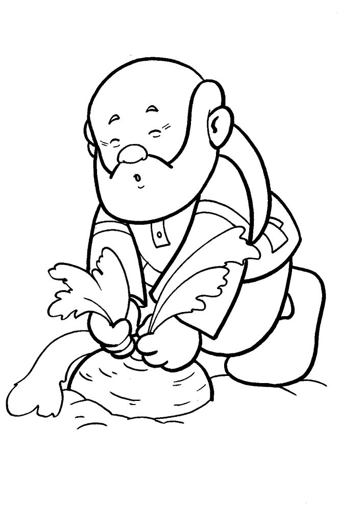 17 best images about nabo gigante on pinterest coloring for Little people coloring pages