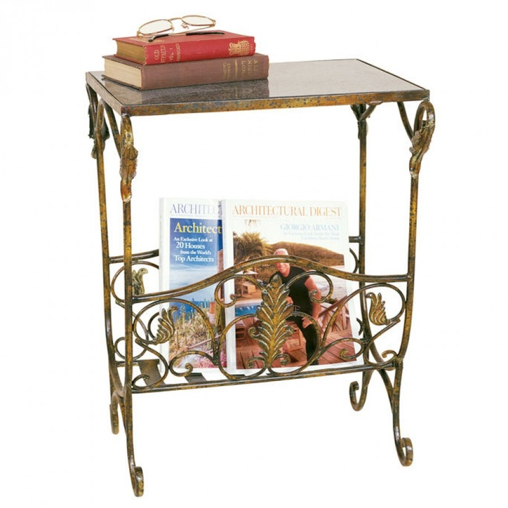 Passport magazine table with rack 2407 for the home for Magazine racks for home