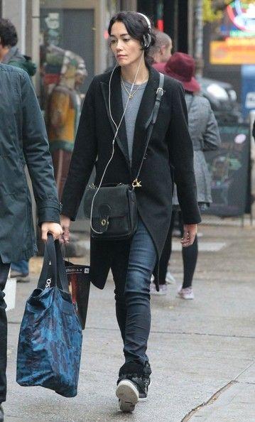 Sandrine Holt - Sandrine Holt Takes a Stroll in NYC