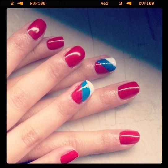 Complete World Cup Nail Art 2014 Gallery - #russia #soccernails