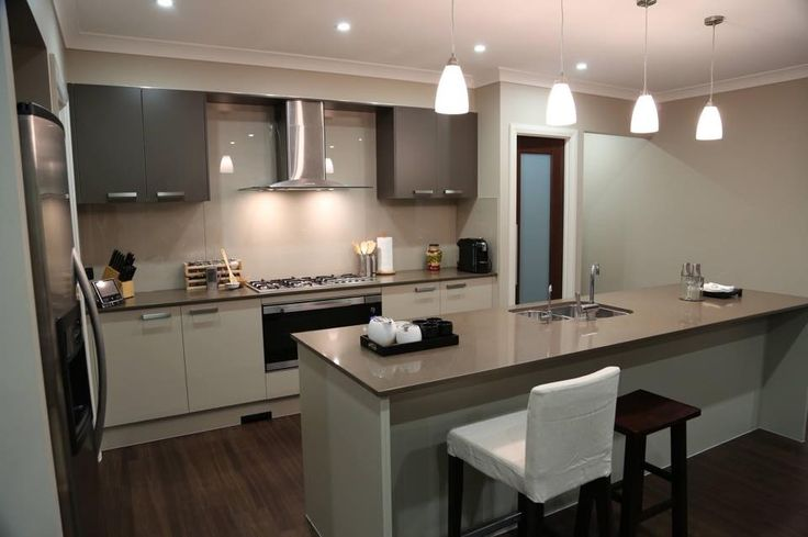 Reginald from NSW has shared photos of his Manhattan One home - another shot of their stunning kitchen. #kitchen #cook #recipe #newhome