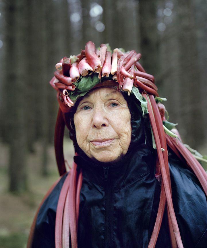 Playful Seniors Wear Organic Materials to Personify Nature - My Modern Metropolis