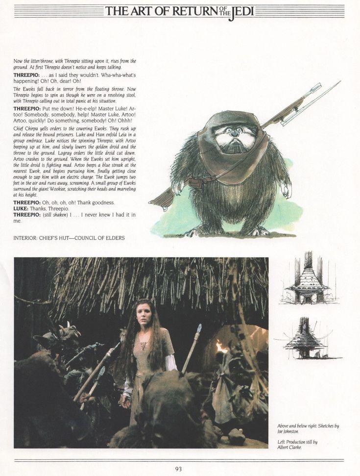 Art of Return of the Jedi (1983) starwars starwarsfan