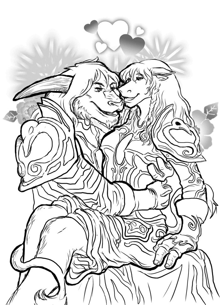D Line Drawings Quest : World of warcraft drawings bing images coloring pages