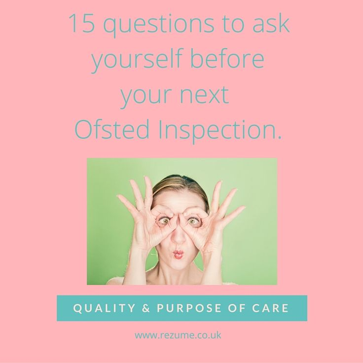 The Ofsted Inspector is at the door of your Children's Home or Service. Are your ready? Here are 15 questions to ask yourself before your Ofsted Inspection.