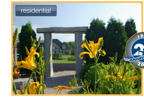 Cornerstone Landscaping offers both residential and commercial landscaping!