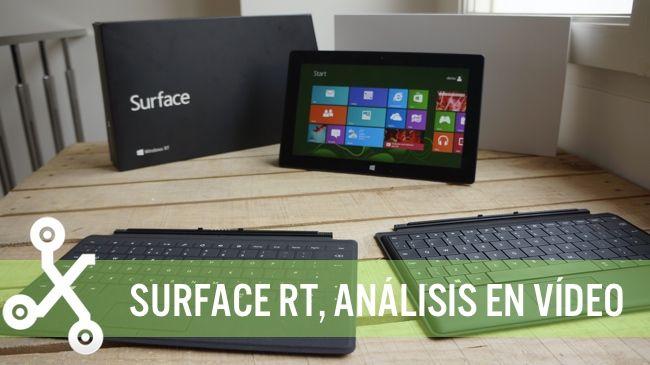 Surface RT, análisis en vídeo http://www.xataka.com/p/102974