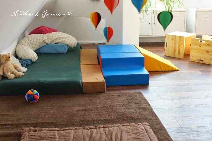 das leben ist kunterbunt montessori meets kinderzimmer kinderzimmer. Black Bedroom Furniture Sets. Home Design Ideas