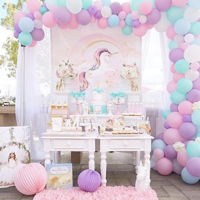 fbffeddd38f2 Pretty Pastel Unicorn Birthday Party | Unicorns | Unicorn party ...