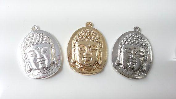 5 pcs Buddha Charms Buddha Pendants f buddha por acejewellery