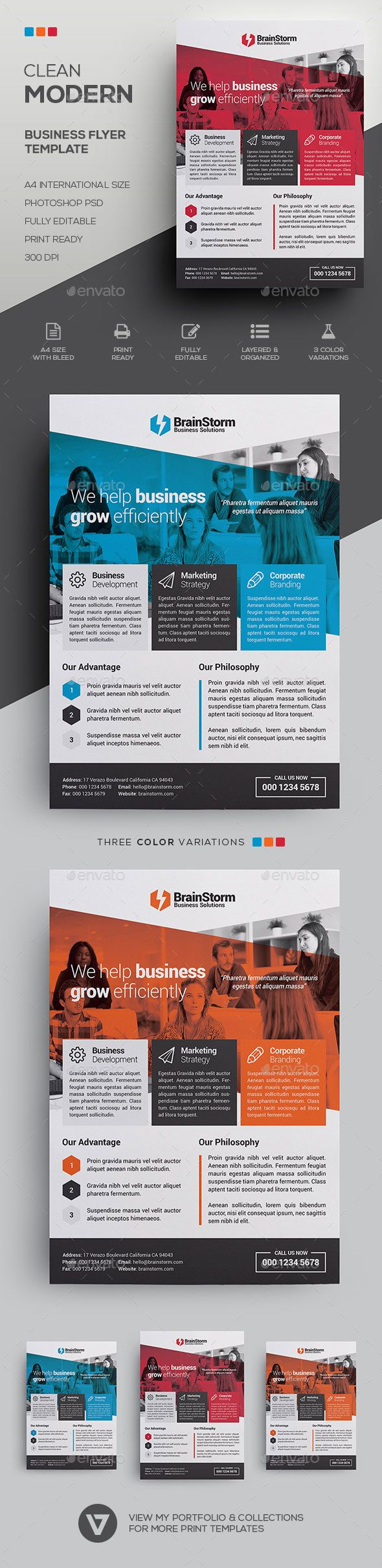 business flyer examples