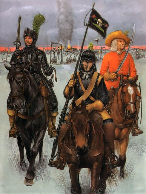 The Army of Gustavus Adolphus - Finns and Livonians • Aderkas's Livonian Cuirassiers  • Tott's Swedish Cuirassiers  • Stalhandske's Finnish Horse