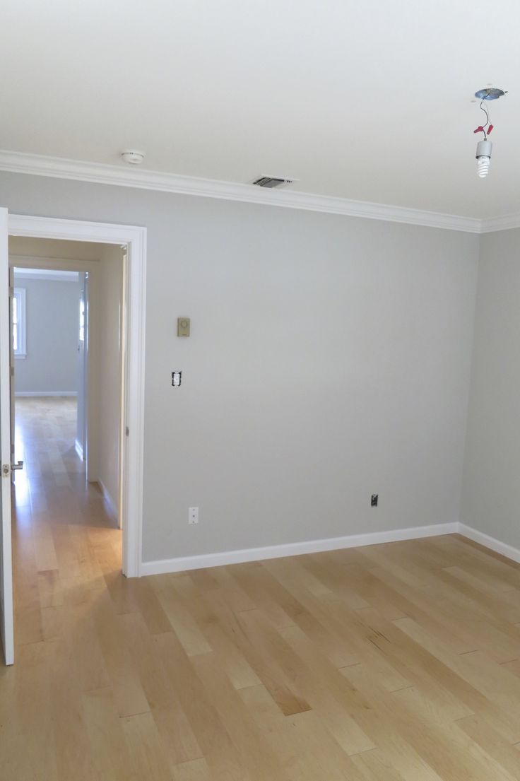 Paint colors contemporary living room benjamin moore abalone - Whole House Paint Color Benjamin Moore Abalone On Walls