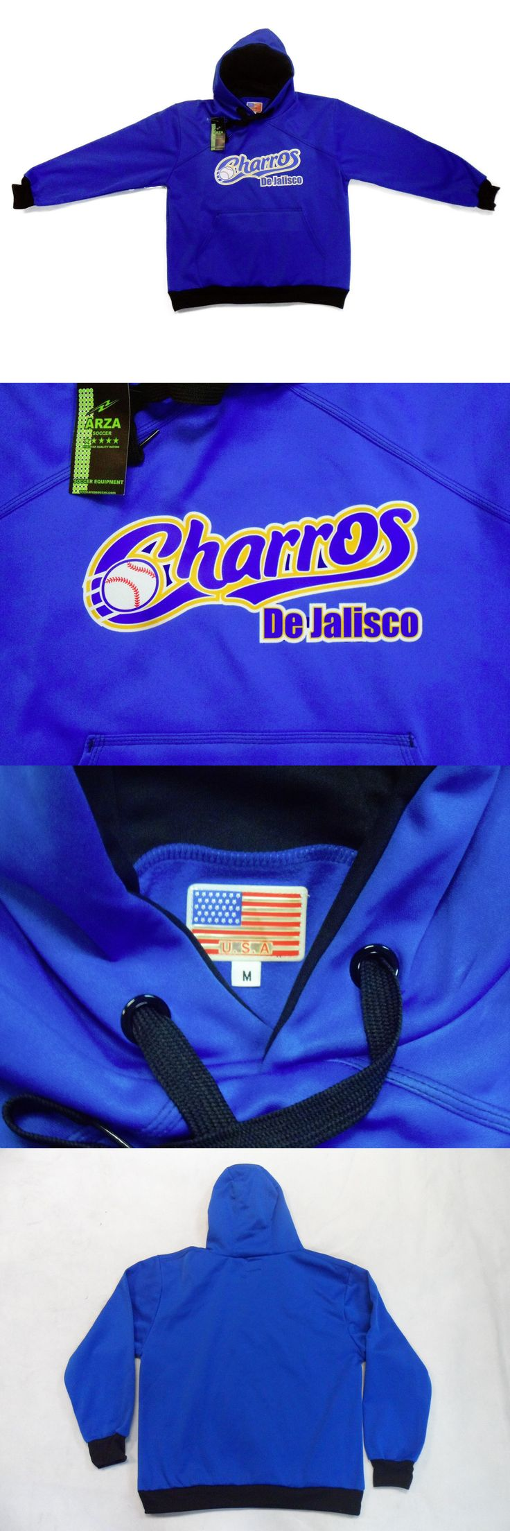 Baseball-Other 204: Charros De Jalisco Sweater With Hoodie -> BUY IT NOW ONLY: $37.99 on eBay!