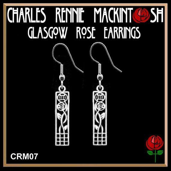 Glasgow Rose via Charles Rennie Mackintosh