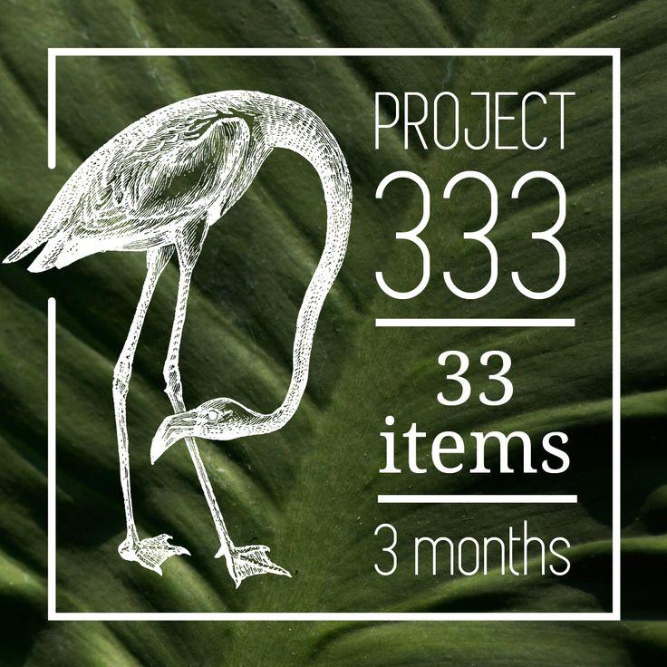 Project 333 // Een overvolle kast en toch niets om aan te trekken. Herken je dat? Ik droom van een minimalistische kast, met alleen maar items waar je blij van wordt. Daarom begin ik aan Project 333; 3 maanden met slechts 33 items