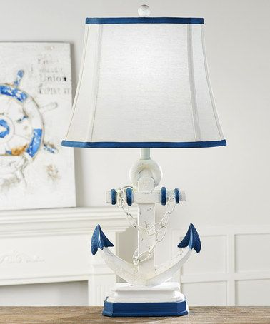 love this anchor table l on zulily zulilyfinds 14652 | dd4e4015a78bc36c240b08bdbf1f1935 nautical ls nautical bedroom