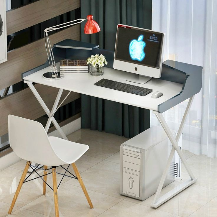 289.86$  Buy now - http://aliw0h.worldwells.pw/go.php?t=32687381434 - Simple computer desktop household table paint modern computer desk 289.86$