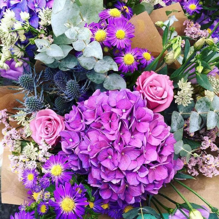 We just love these colours  #gorgeous #flowers #bright #colors #smile #happiness #instagramers #instalike #instagram #instagood #dublin #galway #ireland #irelandflowers #friday