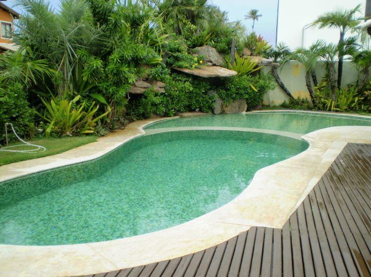 25 melhores ideias sobre paisagismo ao redor da piscina - Piscinas para casa ...