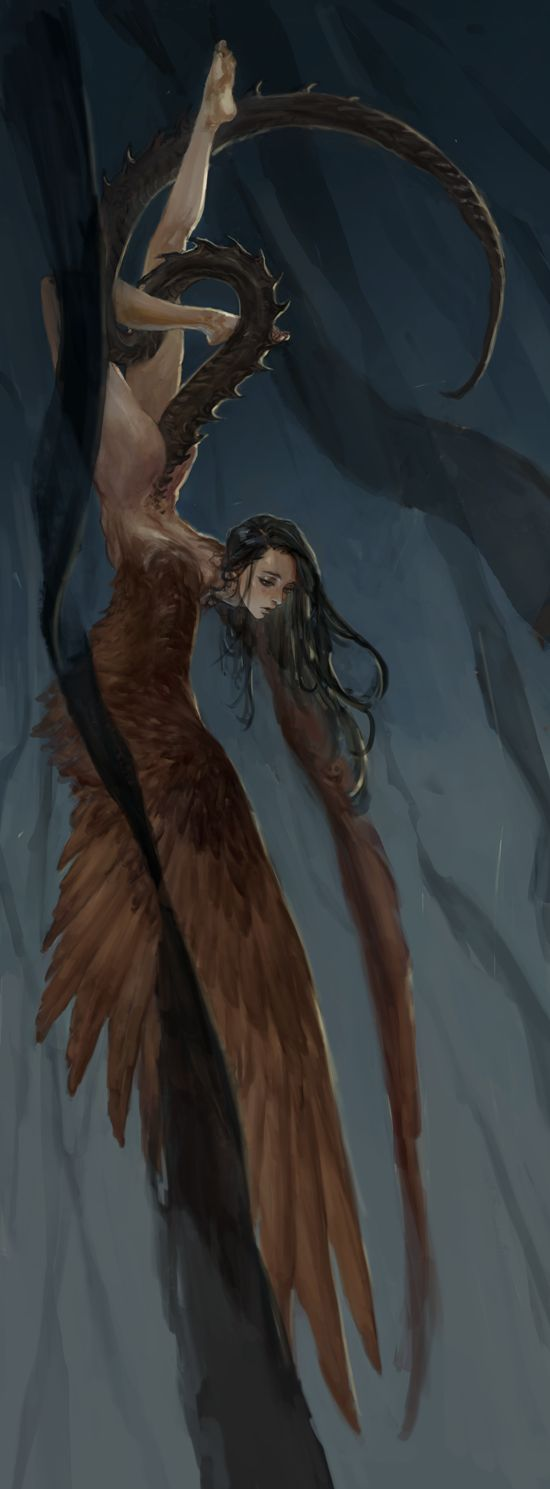Harpy  https://www.artstation.com/artwork/9-f728e7d7-646b-4b0c-9156-dced86028ceb