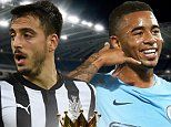 Manchester City will aim to keep up their extraordinary winning streak as they target an 18th consecutive Premier League victory when they visit Newcastle United. Pep Guardiola's team have dominated the first half of the Premier League campaign and another three points at St James' Park would see them open up a huge 15-point gap over Manchester United at the top of the table.