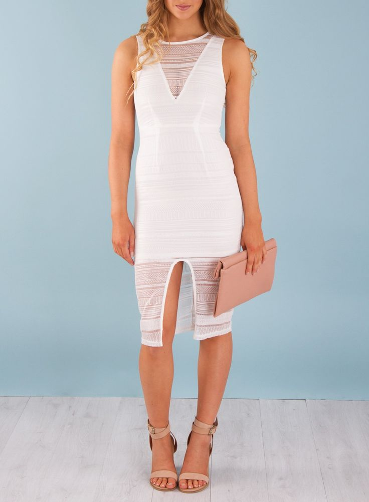 Yathella White Dress Front