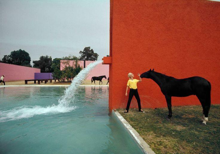 Luis Barragan House - Rene Burri, Magnum Photos