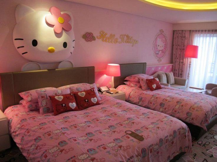 Lotte Hotel, Jeju Island, South Korea.  HELLO KITTY!