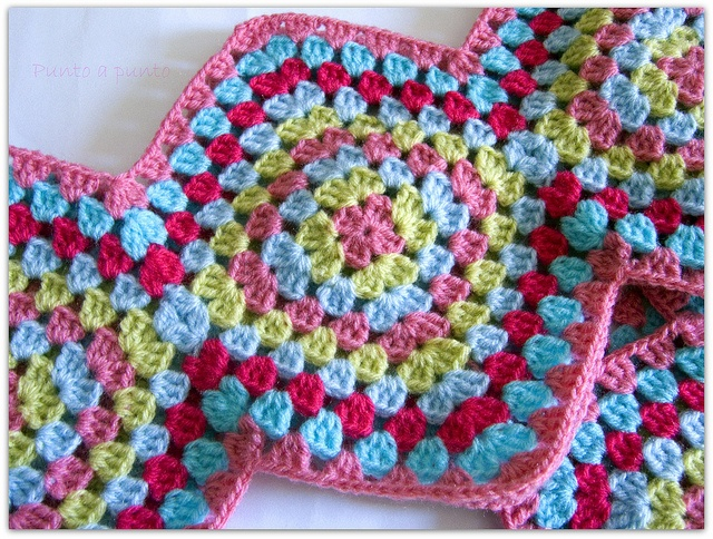 Yes! Now crochet outwards from both sides! February blanky!
