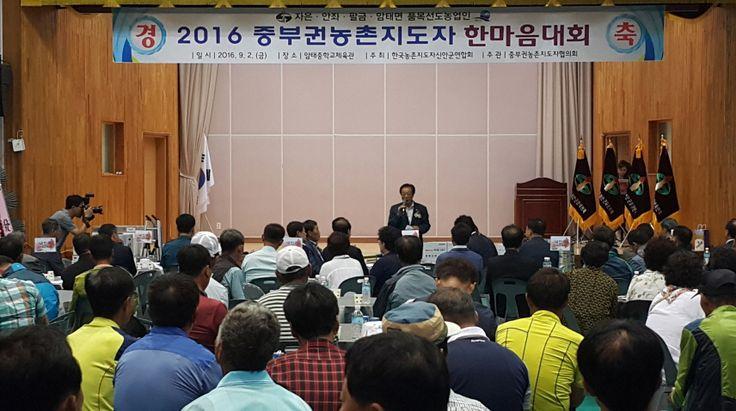 신안군 농촌지도자회원들의 화합한마당