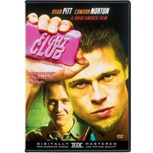 Fight Club 1999 Movie DVD Used Edward Norton, Meat Loaf, Brad Pitt UPC024543044789