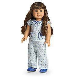 American Girl® Dolls: Molly's Floral Pajamas for Dolls own
